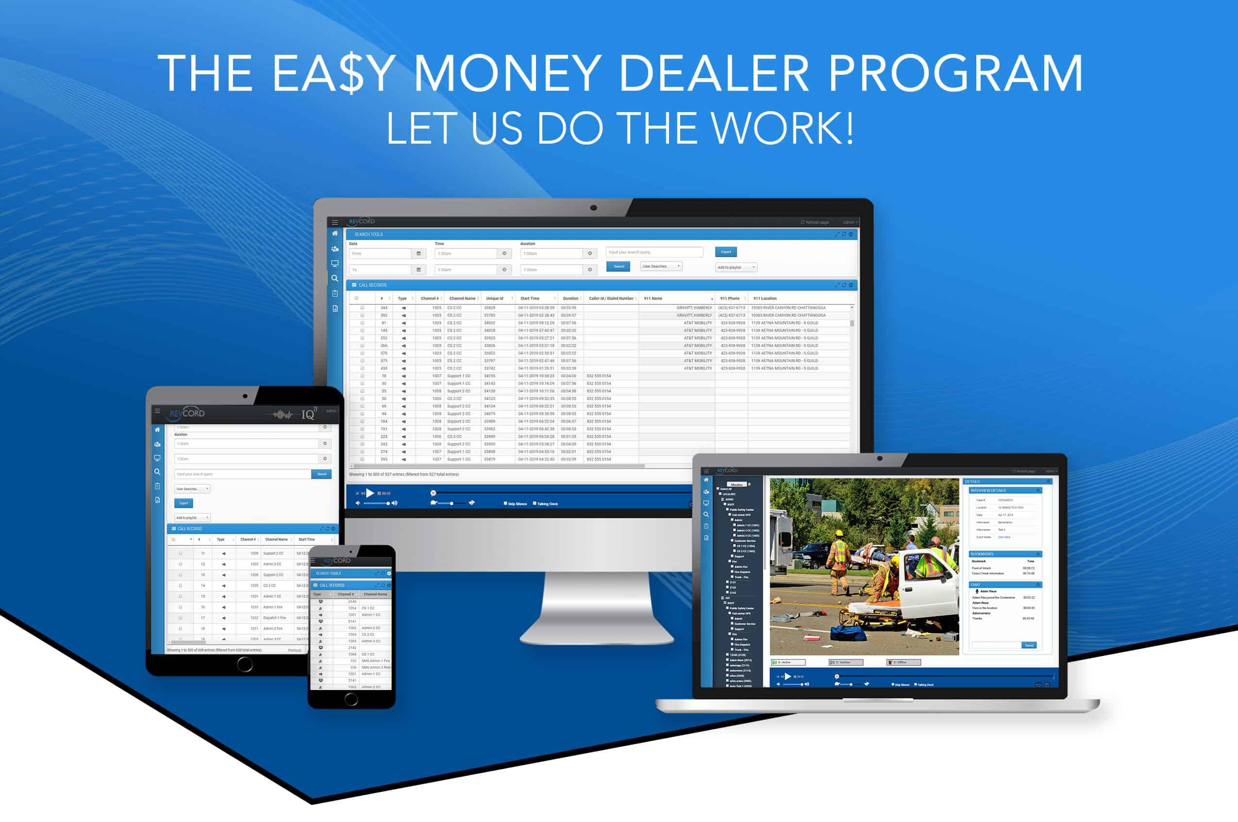 The Easy Money Dealer Program Header Img