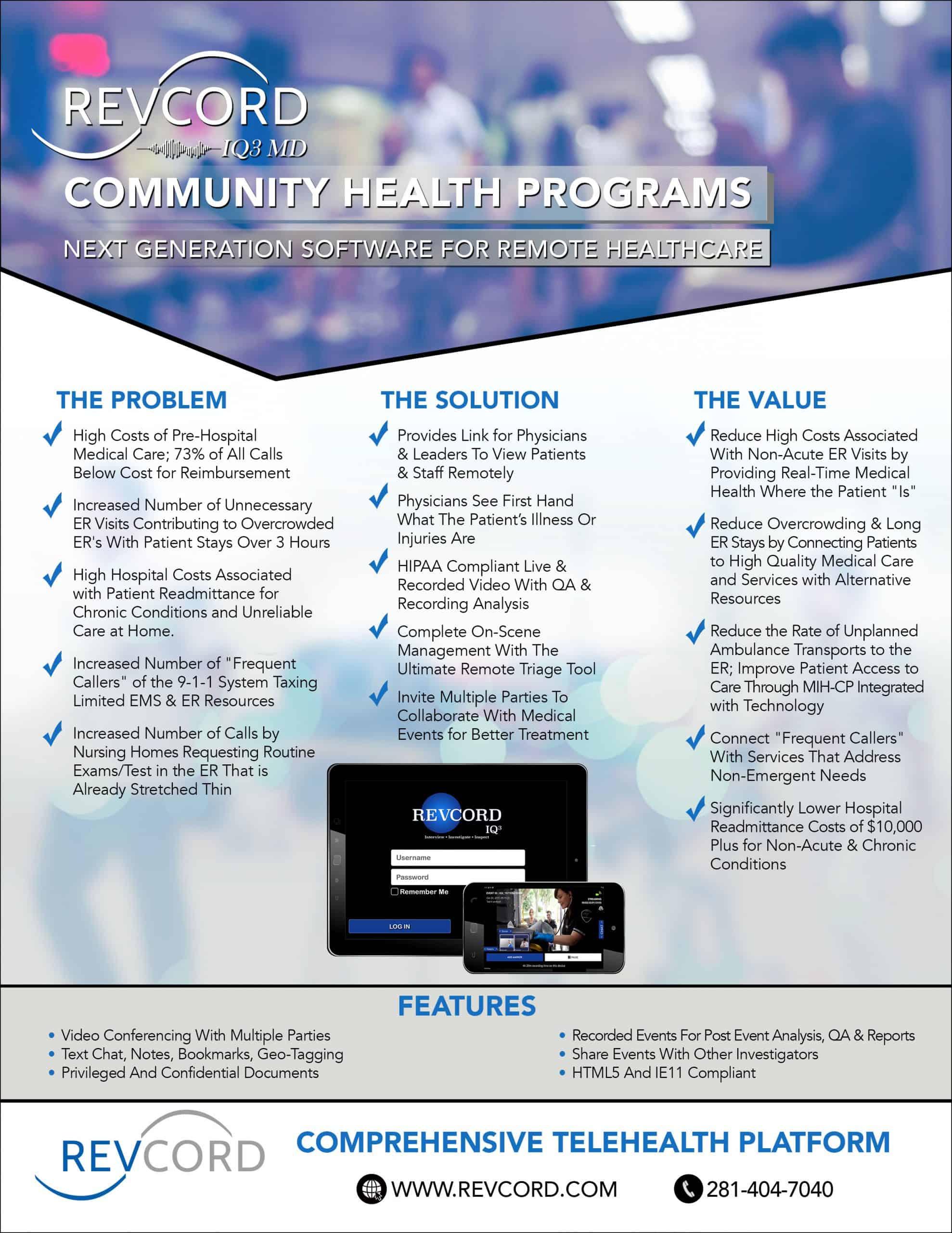 IQ3 MD Community Health