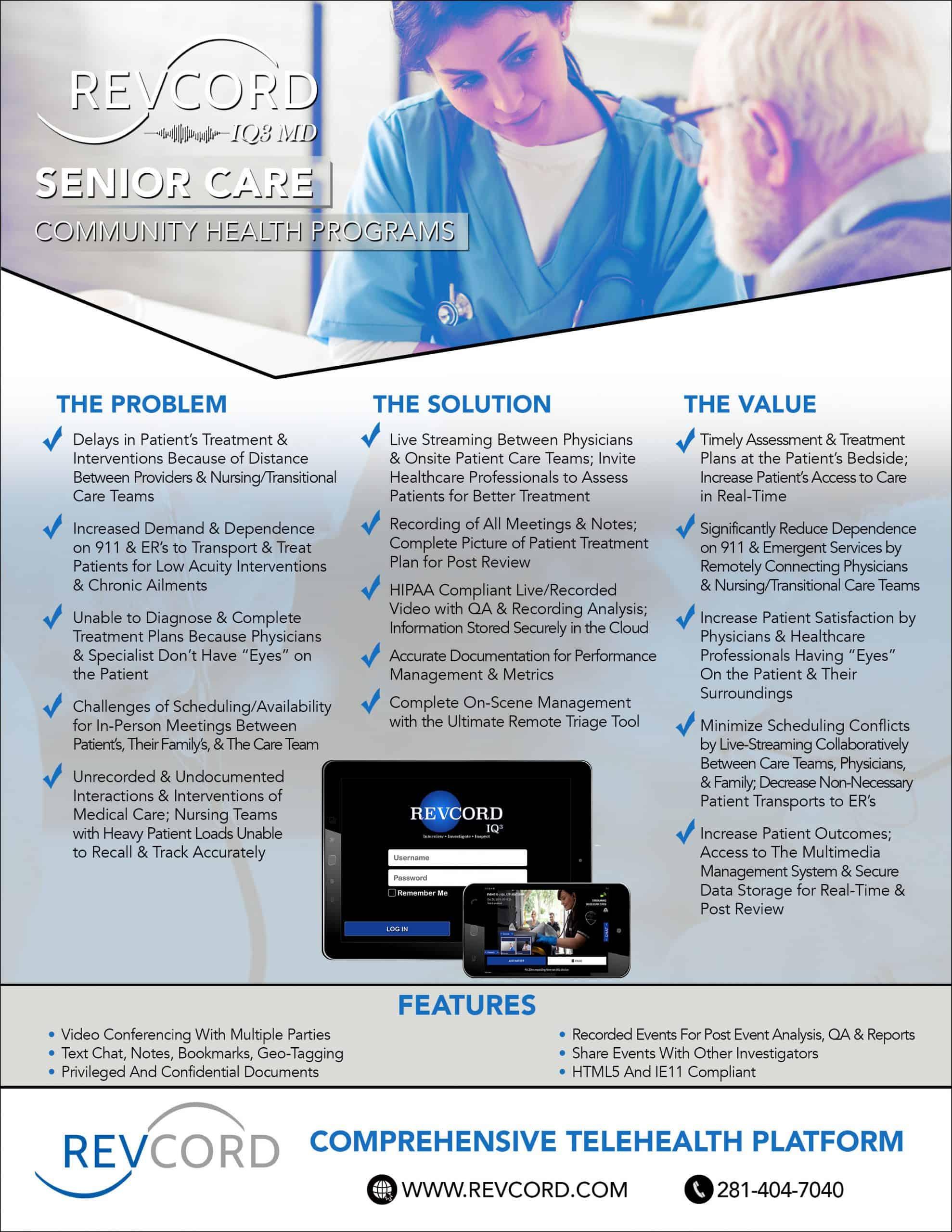 IQ3 Senior Care CTP