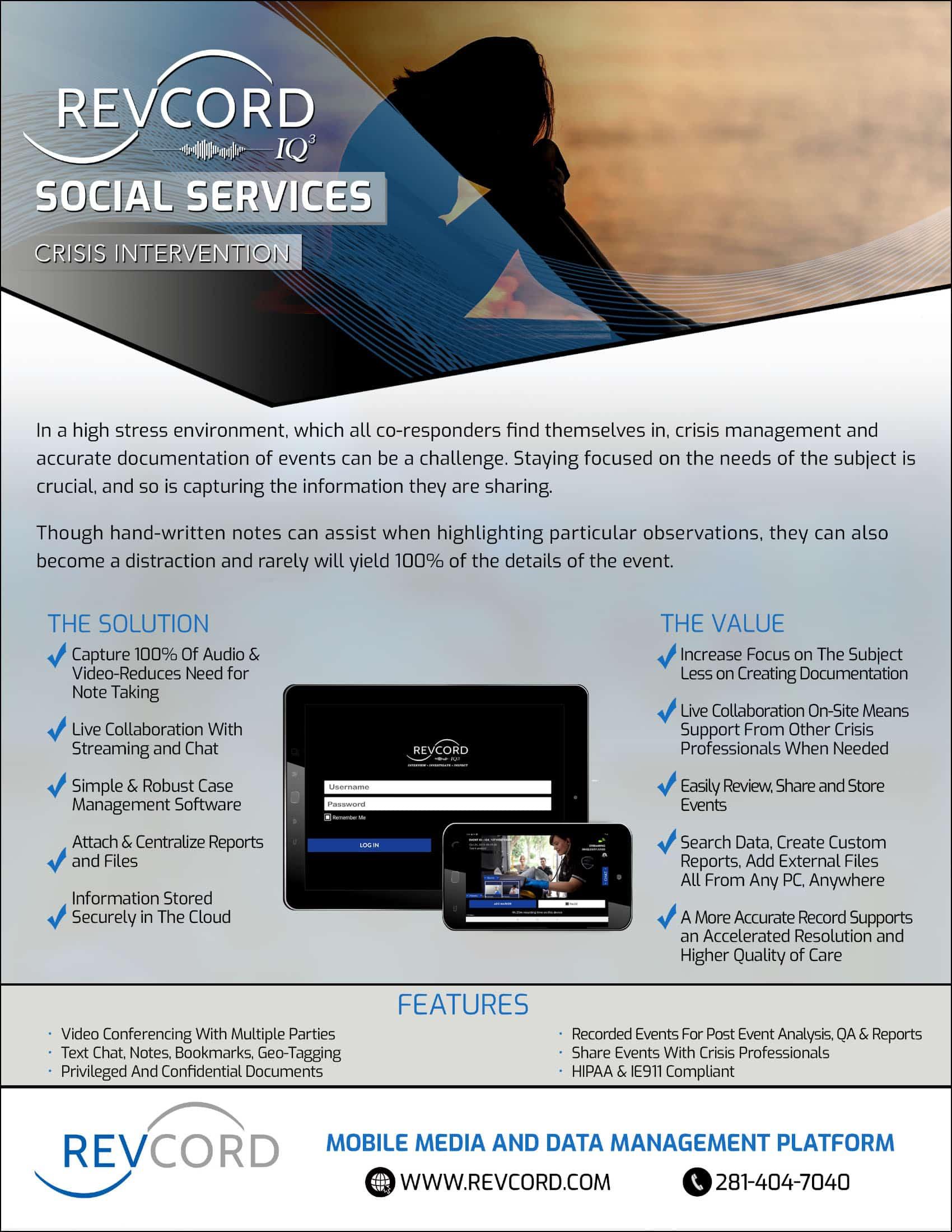 IQ3 Social Services Crisis Intervention