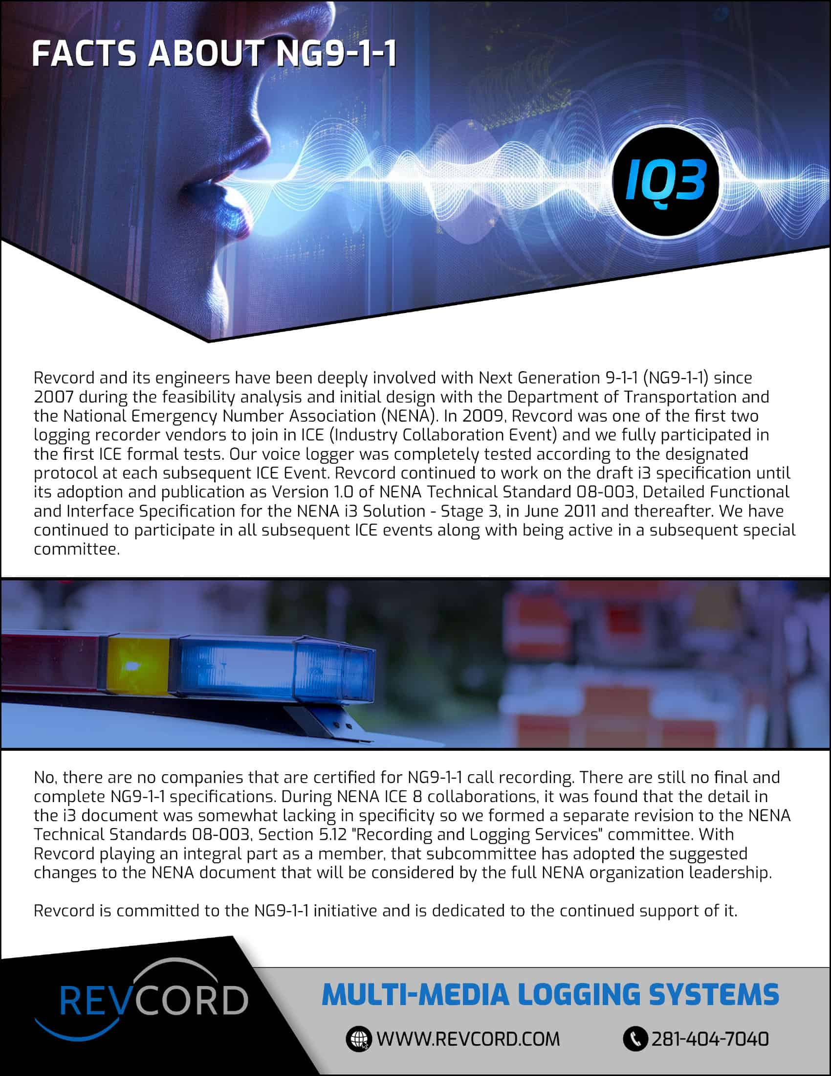 Facts About NG9-1-1