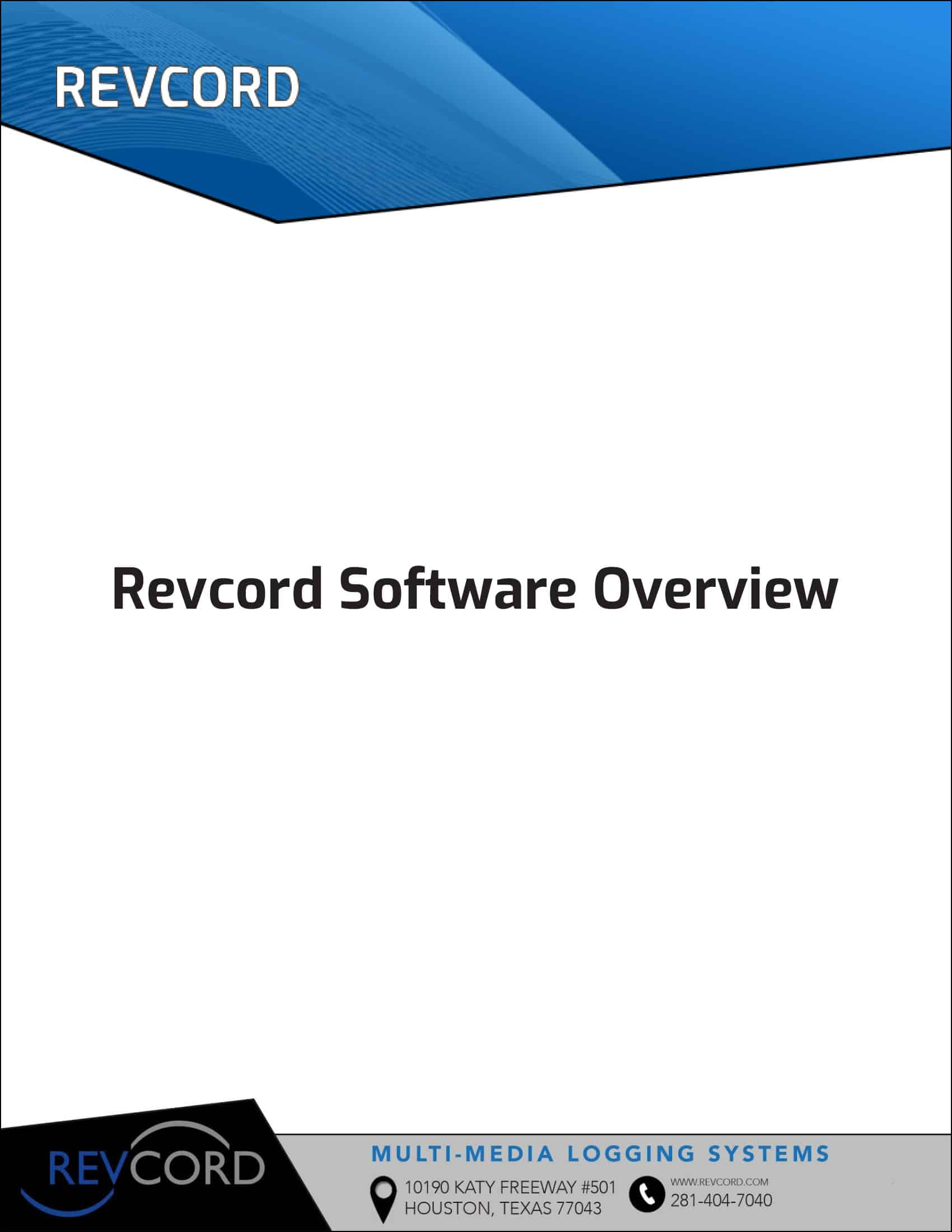 Revcord Overview